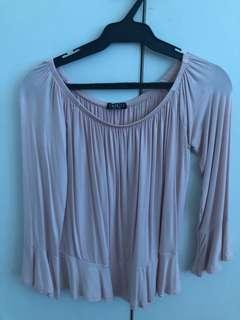Cotton On Bell Sleeve Off-Shoulder Top