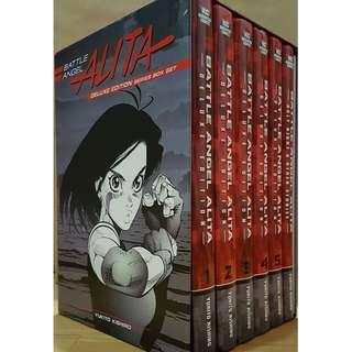 BATTLE ANGEL ALITA DELUXE EDITION HARDCOVER BOX SET by Yukito Kishiro