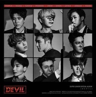 WTS Devil Super Junior