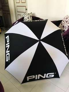 HUGE PING UMBRELLA GOLF