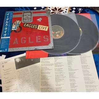 LP 黑膠 2LP Eagles - Live
