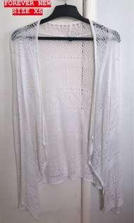 WHITE BEACH CARDIGAN