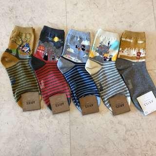 Japanese Story Socks