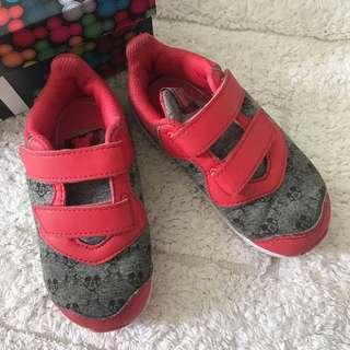 🚚 Adidas Disney Girl Minnie Mickey Fortarun Sneakers Shoes UK 7/US7.5K/EUR24! For 15cm feet!