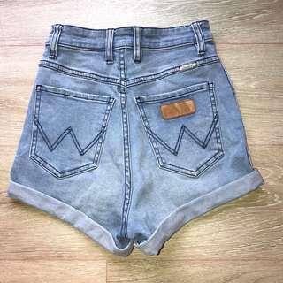 Wranger High Waisted Shorts