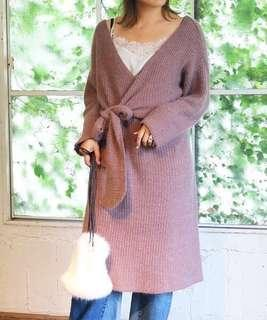 🚚 Todayful毛料針織連身裙