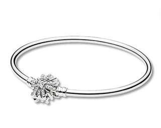 Pandora LIMITED EDITION silver moments bangle fireworks 17