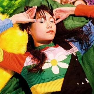 Retro Rainbow Pullover Sweater