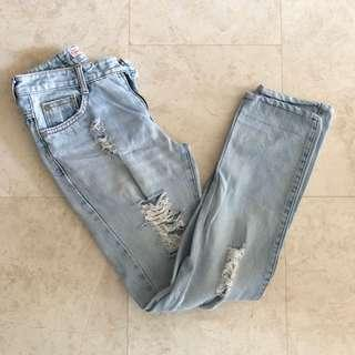 BN Mom Ripped Jeans
