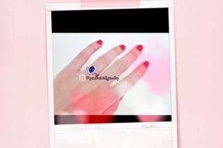 Sapphire Birthstone Sterling Silver Ring