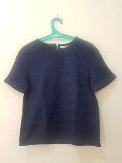 Top Chic Simple Navy