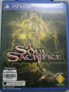 Soul sacrifice (ps vita edition)