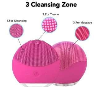 Mini facial washer wash cleaner makeup