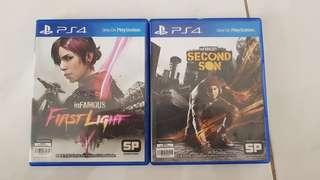 inFamous First Light dan Second Son