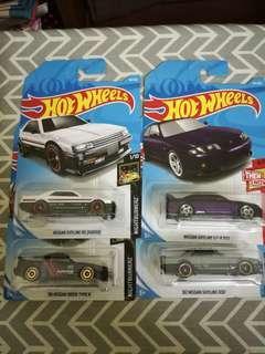 Hotwheels Nissan Lot