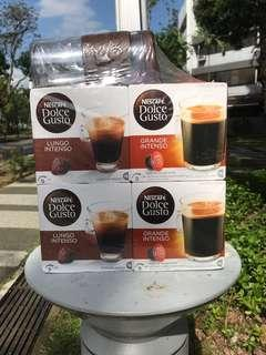 Nescafe Dolce Gusto x4 with tumbler