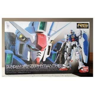 Bandai Gundam GP01 RG-12 1/144 Model Kit
