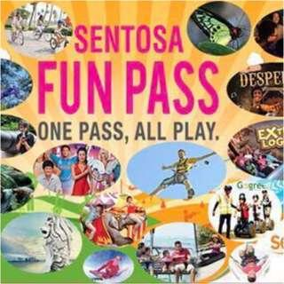 SENTOSA FUN PASS  / TOKEN PASS