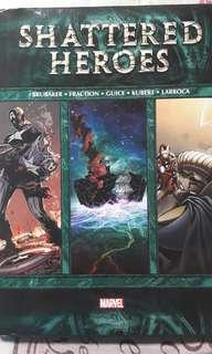 Fear Itself Shattered Heroes HC