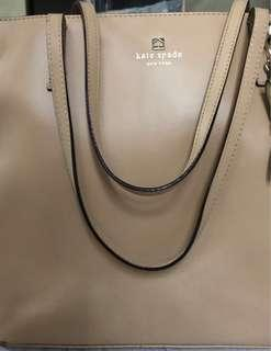 Authentic Kate Spade zipped Tote