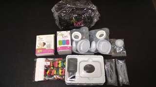 EVE LOVE - Electric Breast Pump + Storage Bottle