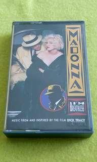 MADONNA  I'm breathless cassette tape not vinyl record