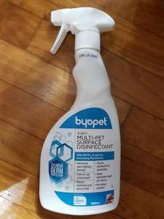 BYOPET 3 IN1 MULTI- PET SURFACE DISINFECTANT 500ml   Brand New