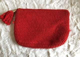 Kookai red bag