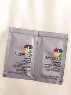 Pureology hydrate shampoo & conditioner travel