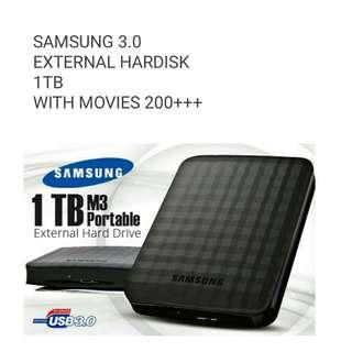 External Hard Disk 1TB Original 100%