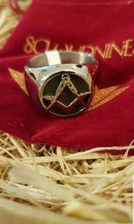 Pre order arrived. Stainless Steel Free Mason Ring
