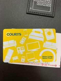 (No nego) $150 Courts Gift Card (Min Top up $150)