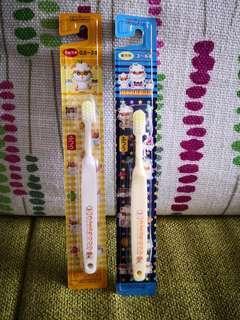 日本sanrio絕版ck鼠corocorokuririn2005年小童牙刷$28/每支