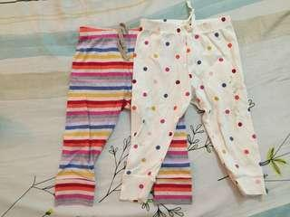 GAP baby 12-18mo trousers set