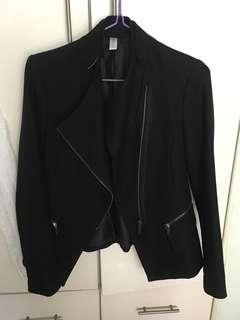 🎈韓國黑色拉鏈外套