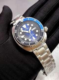 🚚 * FREE DELIVERY * Made In Japan Brand New 100% Authentic Seiko Prospex BatMan Turtle Automatic Mens Diver Watch with Chinese Day SRPC25 SRPC25J