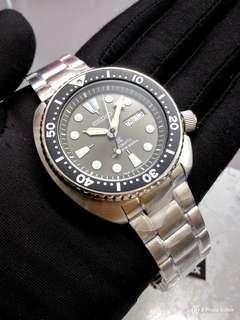 🚚 * FREE DELIVERY * Made In Japan Brand New 100% Authentic Seiko Prospex Grey Anthracite Turtle Mens Automatic Diver Watch SRPC23 SRPC23J