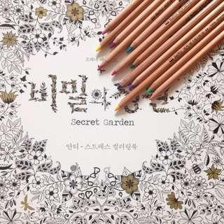 Coloring books restocks - Animal, Enchanted, Secret, Madalas