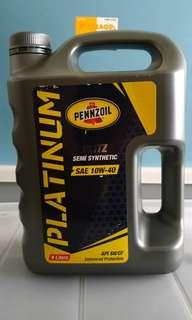 Engine Oil Pennzoil Blitz sae 10w-40 4ltr