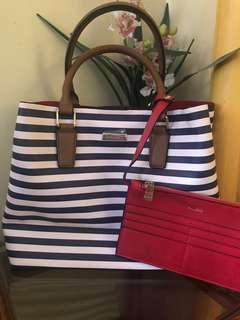 ORIG: ALDO TOTE with POUCH