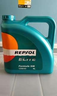 Engine Oil Repsol Elite 10w-40 4ltr