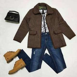 ☇LP☇Quilted Brown Outerwear