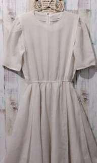 Dress Vintage White