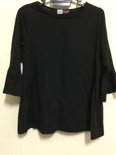 🔖Preloved Black Shirt Blouse