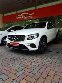Mercedes-Benz GLC-Class Coupe GLC250 AMG Line 4MATIC (A)