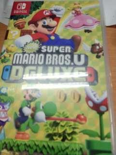 Switch game Mario bros. u