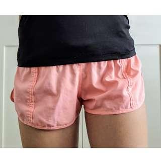 Cotton on Body orange sport shorts