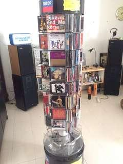 Hannecke display and bunch of imported cd