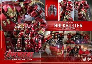 Hottoys hulkbuster deluxe 單 21/10