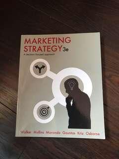 strategic marketing textbook